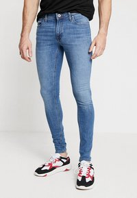 Jack & Jones - JJITOM JJORIGINAL - Vaqueros pitillo - blue denim - 0