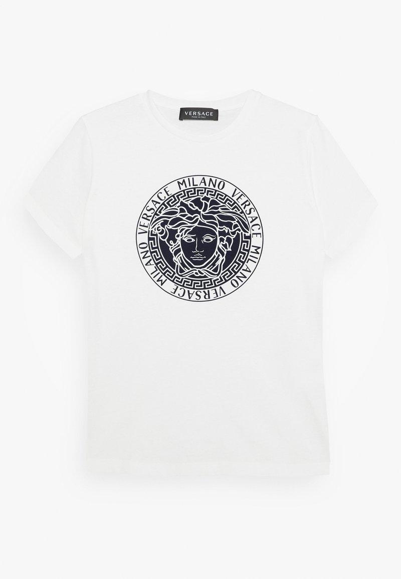 Versace - MAGLIETTA MANICA CORTA - Print T-shirt - bianco lana