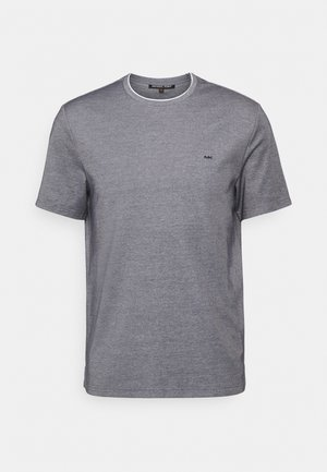 BIRDSEYE TEE KEY - Basic T-shirt - midnight