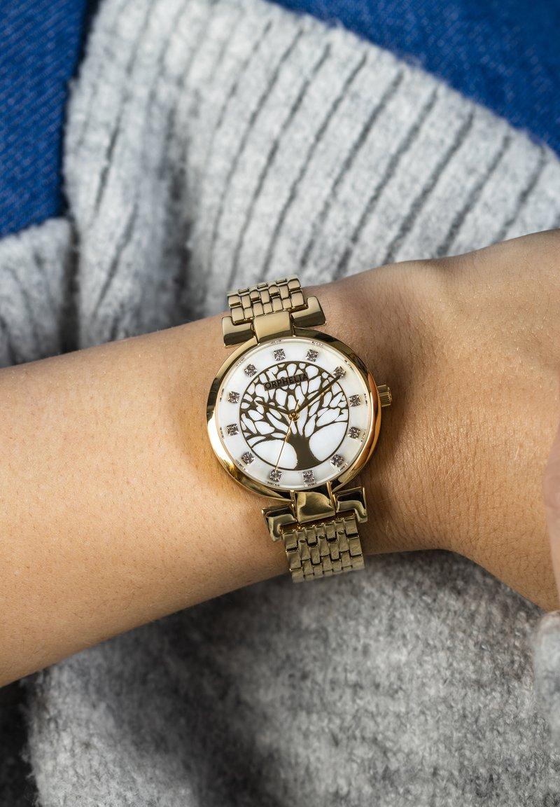 Orphelia - LIGNUM - Watch - rose gold
