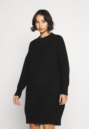 SLFSIF KHLOE DRESS O NECK - Jumper dress - black