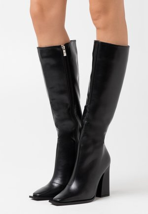 SPHERE  - Laarzen met hoge hak - black