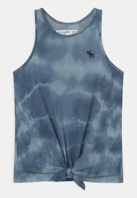 Abercrombie & Fitch - KNOT FRONT  - Top - blue - 0