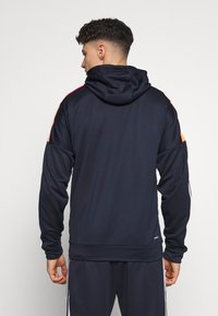 adidas Performance - 3STRIPES AEROREADY ATHLETICS SPORT TRACKSUIT - Verryttelypuku - dark blue - 2