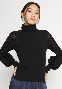 Fashion Union - HARDY - Stickad tröja - black - 3