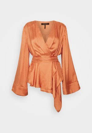 Blouse - medium orange