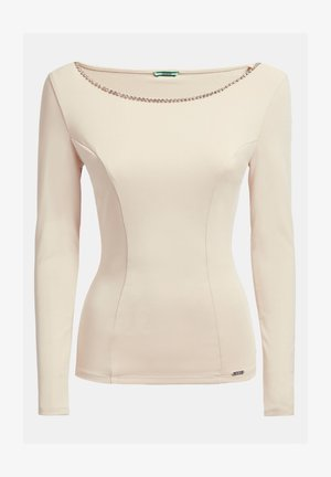 Long sleeved top - creme