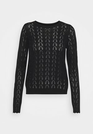 VMYAYAS ONECK PATTERN - Jumper - black