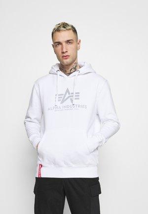 BASIC HOODY REFLECTIVE  - Hoodie - white