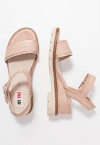 mtng - SAMA - Wedge sandals - trone rosa - 3
