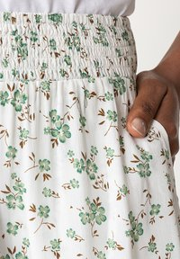 Indiska - A-line skirt - white - 3
