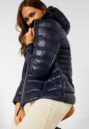 IN STEPP OPTIK - Winter jacket - blau