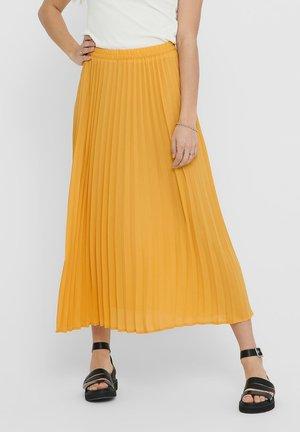 A-line skirt - golden apricot