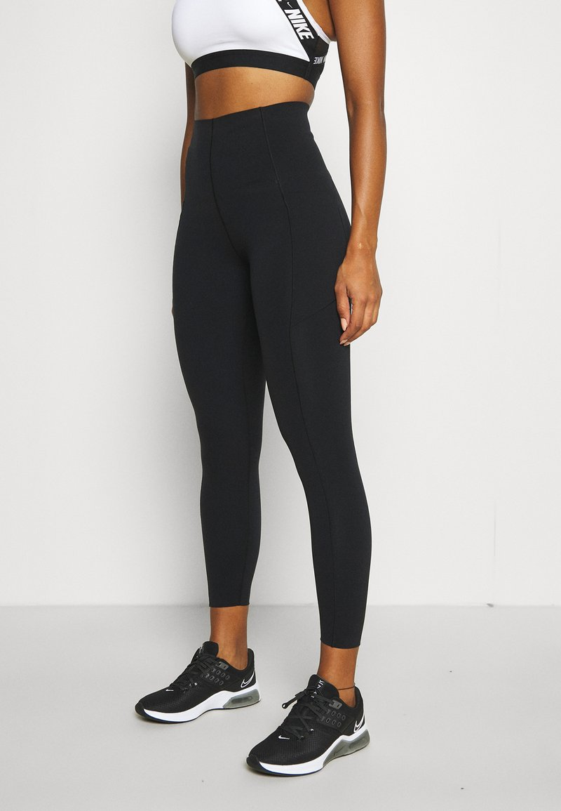 Sweaty Betty - POWER HIGH WAIST 7/8 WORKOUT LEGGINGS - Leggings - black