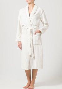 CAWÖ - CARRERA - Dressing gown - weiß/beige - 0