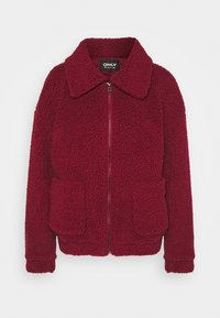 ONLY - ONLEMMA JACKET - Winter jacket - pomegranate - 4
