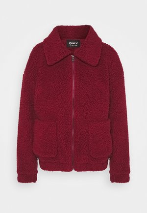 ONLEMMA JACKET - Winter jacket - pomegranate