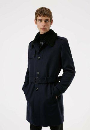 MELTON2141 - Trenchcoat - dark blue
