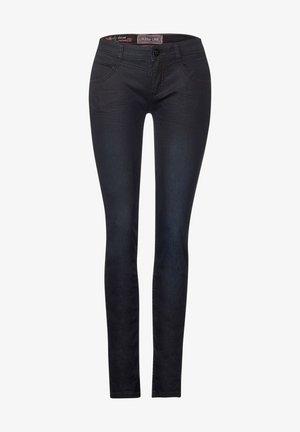 MIT COATING - Slim fit jeans - blau