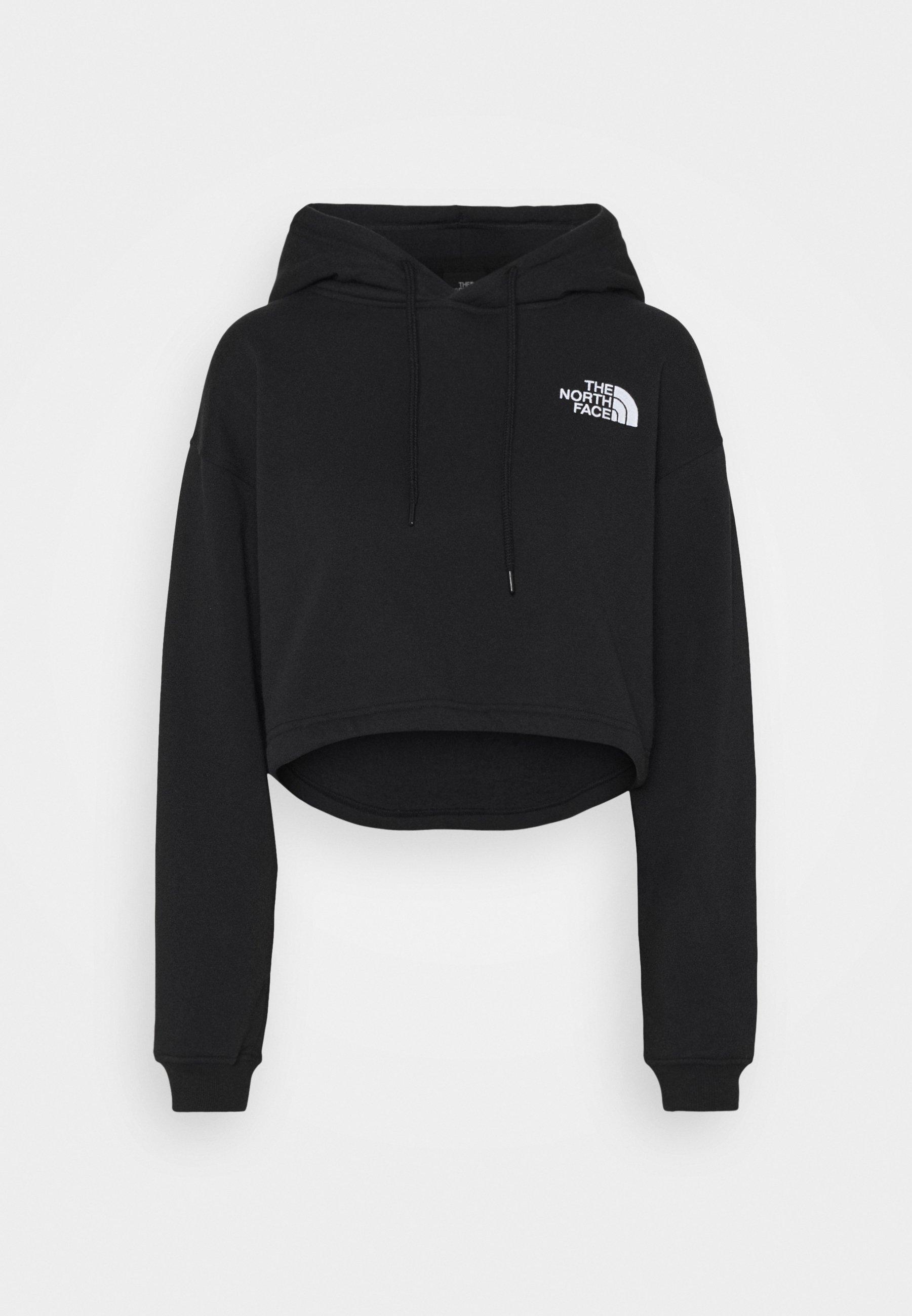 Women TREND CROP DROP HOODIE - Sweatshirt