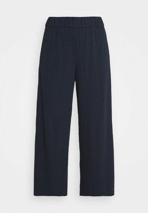 Trousers - blue dark