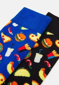 Happy Socks - JUNK FOOD SOCK UNISEX 2 PACK - Calcetines - multi - 1