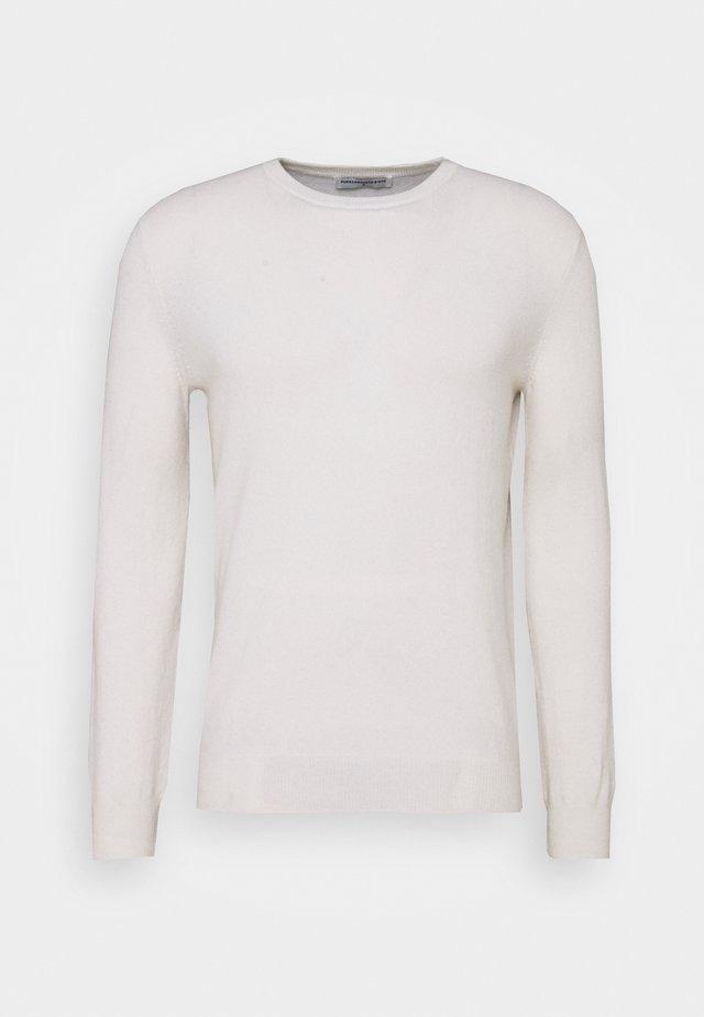 MEN CREW NECK SWEATER - Trui - vintage white