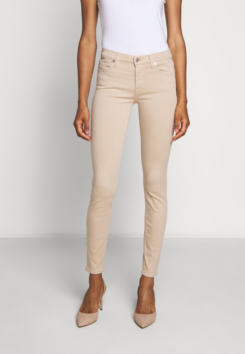 7 for all mankind - COLSLIILL - Trousers - beige