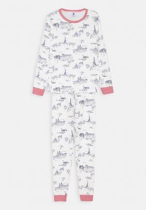 PARIS PRINT - Pyjama set - marshmallow/medieval