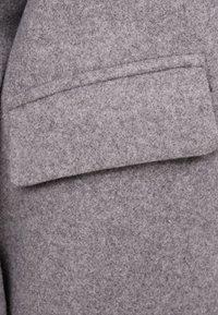 Bershka - Płaszcz wełniany /Płaszcz klasyczny - grey - 5