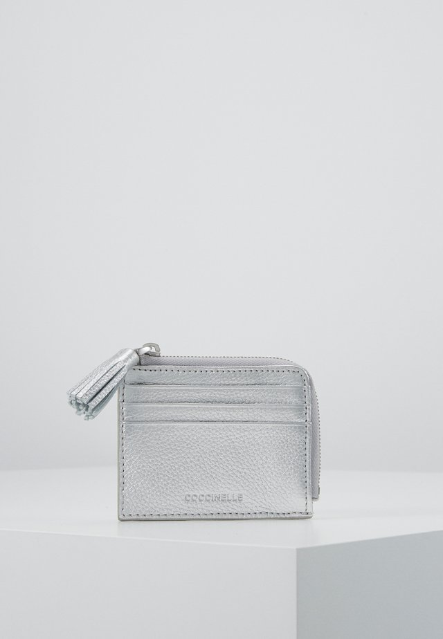 TASSEL CARD HOLDER - Plånbok - silver-coloured