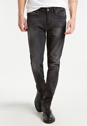 USED-OPTIK - Jeansy Slim Fit - schwarz