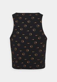 Nike Sportswear - TANK - Top - black/metallic gold - 6