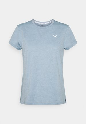 RUN FAVORITE TEE  - Print T-shirt - blue fog heather