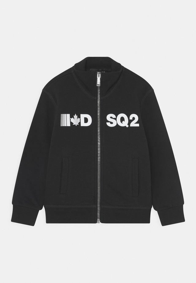 UNISEX - Zip-up hoodie - black