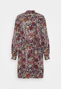 Vero Moda - VMSELMA SHORT HIGH NECK DRESS  - Day dress - wild rose/selma - 4