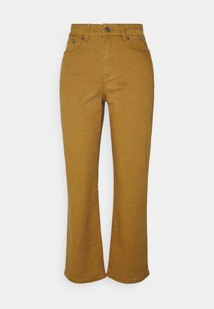 OBJMOJI - Jeans straight leg - tapenade