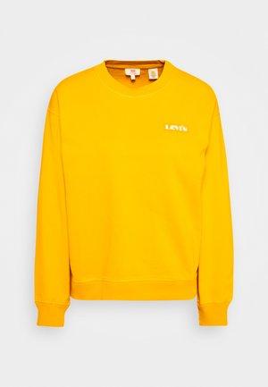 GRAPHIC STANDARD CREW - Sweater - kumquat