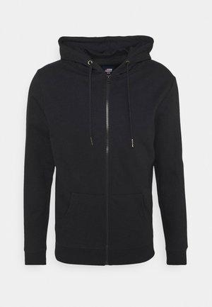 BASIC ZIP CARDIGAN - Zip-up sweatshirt - navy