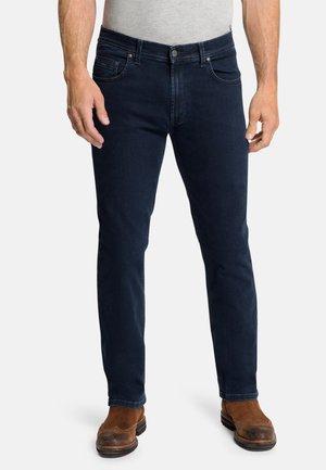 RANDO - Straight leg jeans - blue/black raw