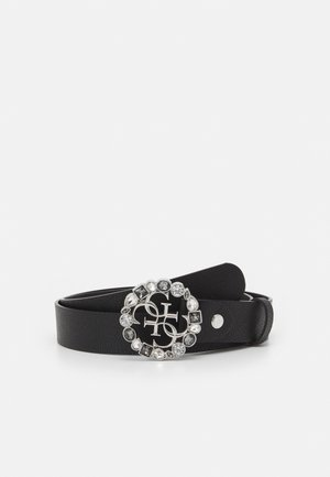 ADJUSTABLE PANT BELT - Belt - black/silver-coloured