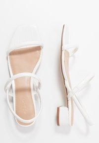 ALDO - CANDIDLY - Sandals - white - 3