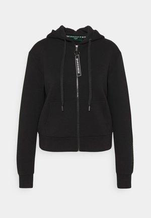 AKILAH ZIPPED  - Bluza rozpinana - jet black