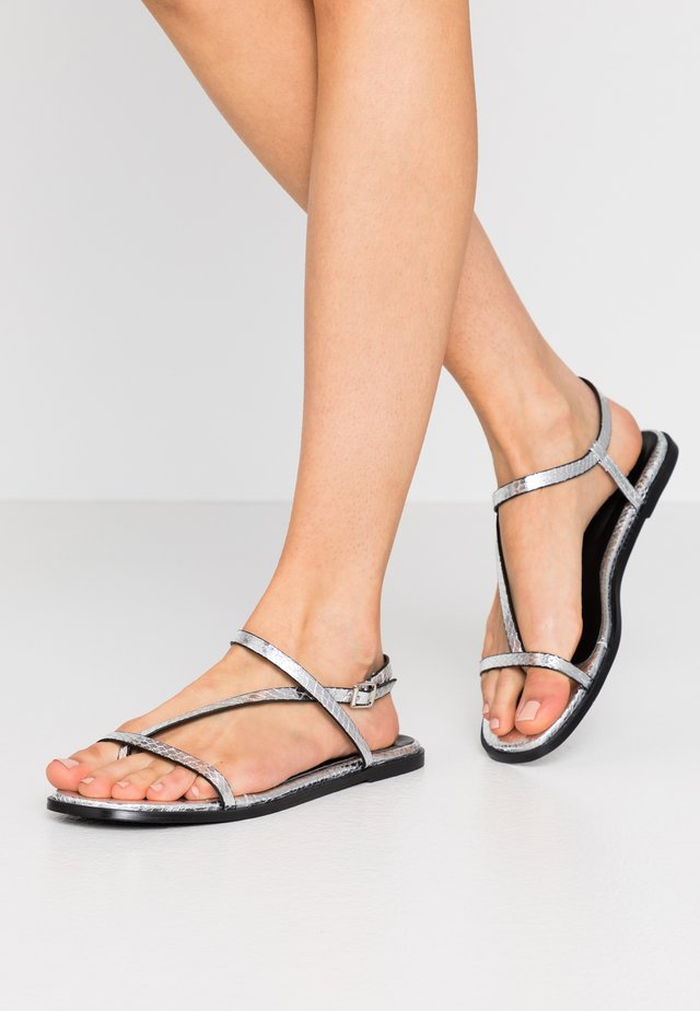 Flip Flops - silver