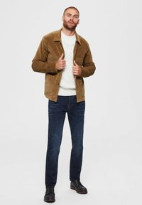 Selected Homme - Summer jacket - camel - 1