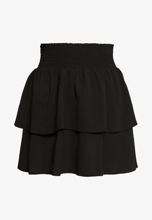 ONLNOVA LUX SMOCK  - Pleated skirt - black