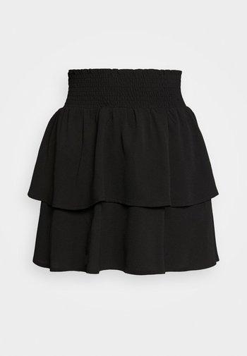 ONLNOVA LUX SMOCK  - Plisovaná sukně - black