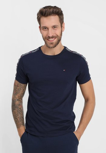 TEE - Pyjamasöverdel - blue