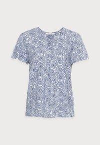 Marc O'Polo - BLOUSE - Bluse - blue/white - 4
