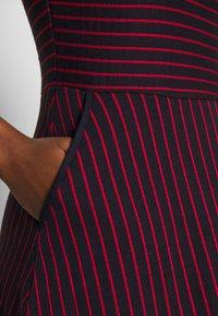 Esprit - STRIPED DRESS - Day dress - navy - 4